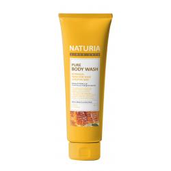 NATURIA Pure Body Wash Honey & White Lily 100ml - Гель для душа Мёд&Лилия