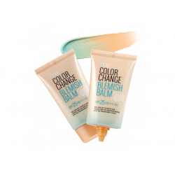 Welcos Lotus Color Change Blemish Balm 50ml - Матирующий CC-крем