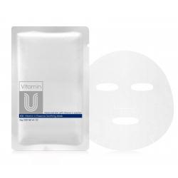 CU Skin Vitamin U Essence Soothing Mask 25g - Восстанавливающая маска с вит U