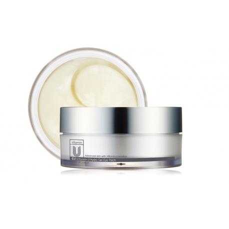 CU Skin Vitamin U Hydro Gel Eye Patch - Пептидные патчи с вольюфилином