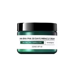 Some By Mi AHA-BHA-PHA 30 Days Miracle Cream 50ml - Регенерирующий крем для проблемной кожи