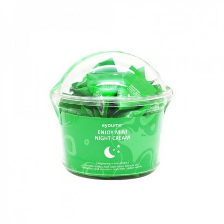 Ayoume Enjoy Mini Night Cream 3g - Ночной крем с центеллой