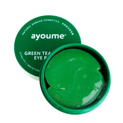 Ayoume Greentea + Aloe Eye Patch (60pcs) - Патчи с зеленым чаем и алое