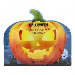 Ayoume Halloween Horror Pumpkin Mask (Soothing) 20g - Успокаивающая тканевая маска