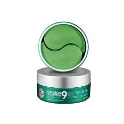 Medi-Peel Hyaluron Cica Peptide 9 Ampoule Eye Patch 60pcs - Тонизирующие патчи с центеллой и пептидным комплексом
