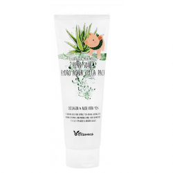 Elizavecca Herb Soul Hydro Aqua Jella Pack (Collagen & Aloe vera 92%) 250ml - Маска с алое и коллагеном