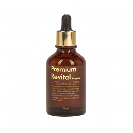 Ellevon Premium Revital Ampoule Antiaging system 50ml - Антивозрастная сыворотка с пептидами