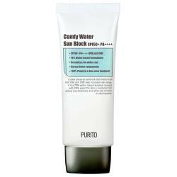 PURITO Comfy Water Sun Block SPF50+PA++++ - Солнцезащитный крем