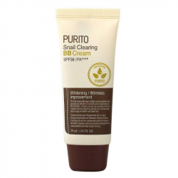 PURITO Snail Clearing BB cream SPF38/PA+++ (№21) 30ml - ВВ-крем