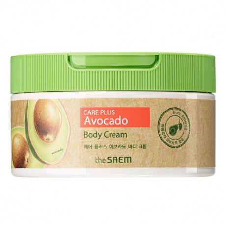 The Saem Care Plus Avocado Body Cream 300ml - Крем для тела с авокадо