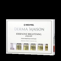 Medi-Peel Derma Maison Idebenone Brightening Ampoule 5*10ml - Интенсивные антиоксидантные ампулы для яркости кожи