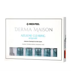 Medi-Peel Derma Maison Azulene Clearing Ampoule 7ml*10 - Интеснивные успокаивающие ампулы с азуленом