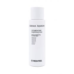 Medi-Peel Derma Maison Vitabenone Brightening Toner 250ml - Антиоксидантный тонер для яркости кожи