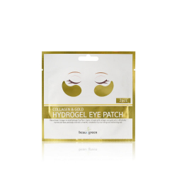 Beauugreen Collagen & Gold Hydrogel Eye Patch (2pcs) - Патчи с коллагеном и золотом