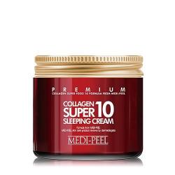 Medi-Peel Collagen Super 10 Sleeping Cream 70ml - Ночной гель-крем с коллагеном
