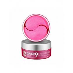 Medi-Peel Hyaluron Rose Peptide 9 Ampoule Eye Patch - Тонизирующие патчи с экстрактом розы и пептидным комплексом