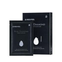 Medi-Peel Rose Diamond Radiant Glow Mask 25ml - Тканевая маска для сияния кожи
