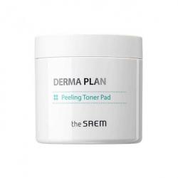 The Saem Derma Plan Peeling Toner Pad 70pcs