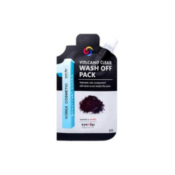 Eyenlip Pocket Volcano Clear Wash Off Pack 20g - Очищающая маска с углем