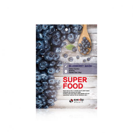 Eyenlip Super Food Blueberry Mask 23ml - Тканевая маска с экстрактом черники
