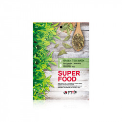 Eyenlip Super Food Green Tea Mask 23ml - Тканевая маска тонизирующая