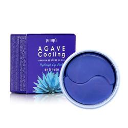 PETITFEE Agave Cooling Hydrogel Eye Patch (60pcs) - Охлаждающие тонизирующие патчи