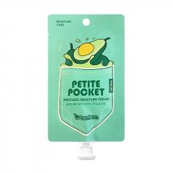 Berrisom Petite Pocket Avocado Moisture Cream 30g - Увлажняющий крем с экстрактом авокадо