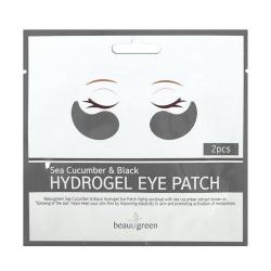 Beauugreen Sea Cucumber & Black Hydrogel Eye Patch (2pcs) - Лифтинг-патчи 2шт