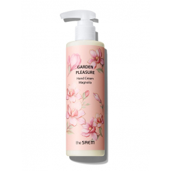 The Saem Garden Pleasure Hand Cream Magnolia 250g - Крем для рук с магнолией