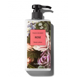 The Saem Touch On Body Rose Body Lotion 300ml - Лосьон для тела с экстрактом розы