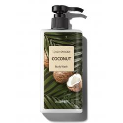 The Saem Touch On Body Coconut Body Wash 300ml - Гель для душа с экстрактом кокоса