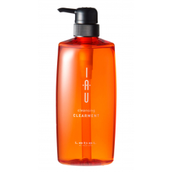 Lebel IAU cleansing CLEARMENT 600ml - Арома-шампунь для нормальной кожи головы