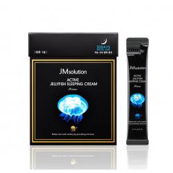 JMsolution Active Jellyfish Sleeping Cream 4ml - Ночной увлажняющий крем с экстрактом медузы
