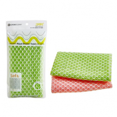 Sungbo Cleamy Royal Shower Towel Soft - Мочалка для душа