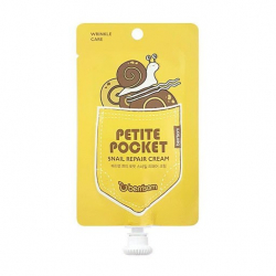 Berrisom Petite Pocket Snail Repair Cream 30g - Улиточный крем