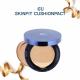 CU Skin Skinfit Cushionpact SPF50+ PA+++ - Кушон для комби и жирной кожи