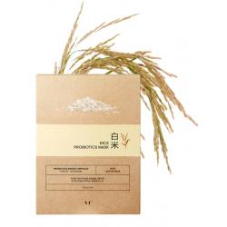 VT Rice Probiotics Mask 28g - Осветляющая тканевая маска с пробиотиками