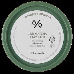 Dr.Ceuracle Jeju Matcha Clay Pack 115g - Очищающая глиняная маска с матчей
