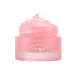 Petitfee Oil Blossom Lip Mask Camelia Seed Oil 15g - Ночная маска для губ с маслом камелии