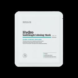 DERMALINE Hydro Soothing & Calming Mask 32g - Успокаивающая увлажняющая тканевая маска