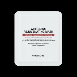 DERMALINE Whitening Rejuvenating Mask Pack 32g - Осветляющая омолаживающая тканевая маска
