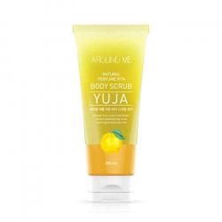Welcos Around Me Natural Perfume Vita Body Scrub Yuja 200ml