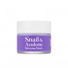 TIAM Snail & Azulene Sleeping Mask 80ml - Ночная успокаивающая маска с азуленом и муцином улитки