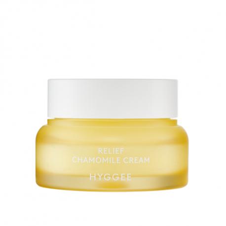 HYGGEE Relief Chamomile Cream 52ml - Успокаивающий крем с экстрактом ромашки