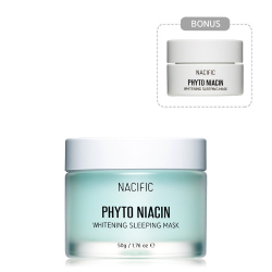 NACIFIC Phyto Niacin Whitening Sleeping Mask 50g+10g - Ночная осветляющая маска