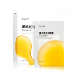 NACIFIC HERB RETINOL Relief Mask Pack 30g - Антивозрастная тканевая маска