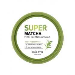 Some By Mi Super Matcha Pore Clean Clay Mask 100g - Очищающая глиняная маска
