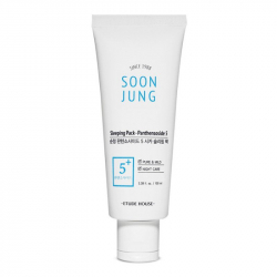 Etude House Soon Jung Sleeping Pack - 5 Panthensoside 100ml - Ночная маска для чувствительной кожи