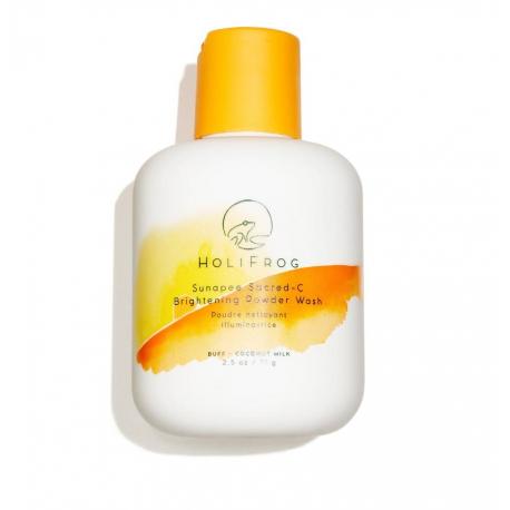HOLIFROG Sunapee Sacred-C Brightening Powder Wash 71g - Энзимная пудра для яркости кожи