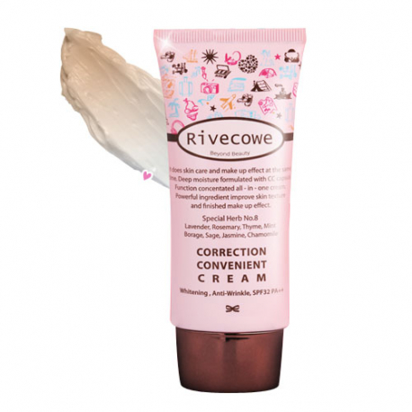 Rivecowe Correction Convenient Cream SPF 43 PA+++ 40ml